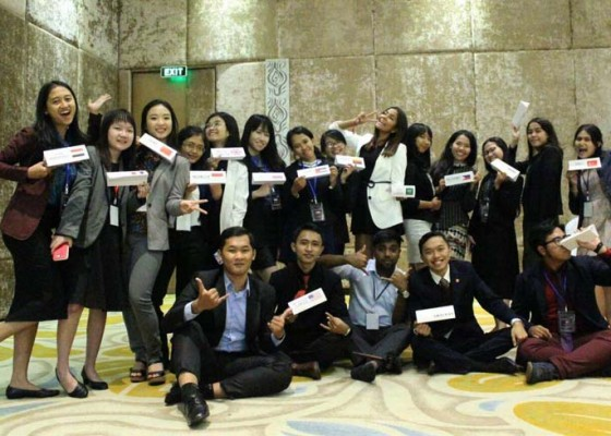 Nusabali.com - little-circle-foundation-mengadakan-bali-international-model-united-nations-lcf-bimun