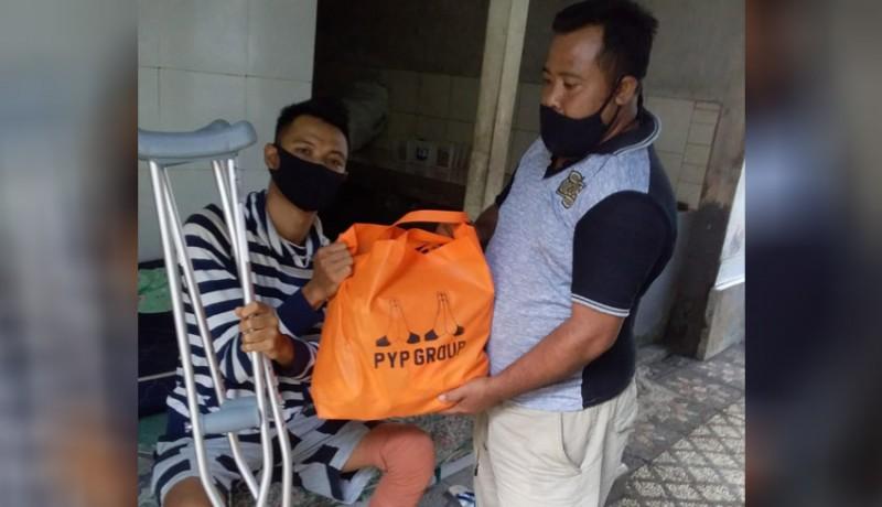 www.nusabali.com-pyp-group-bagikan-sembako-sambut-hut-provinsi-bali-dan-hut-ri