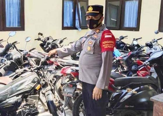 Nusabali.com - 21-unit-sepeda-motor-diamankan