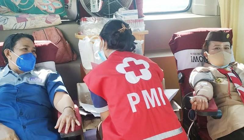 www.nusabali.com-peringati-hari-pramuka-ke-60-kwarcab-buleleng-gelar-donor-darah