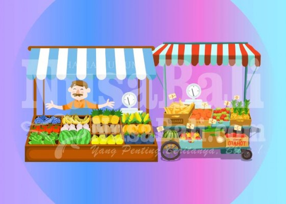 Nusabali.com - pandemi-pemasaran-produk-buah-buahan-anjlok-50-persen