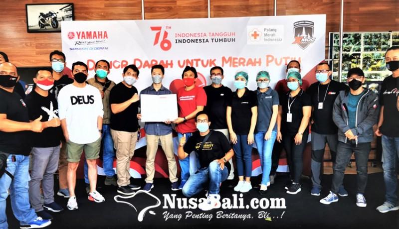 www.nusabali.com-xmoc-bali-gelar-donor-darah-untuk-merah-putih