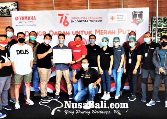 Nusabali.com - xmoc-bali-gelar-donor-darah-untuk-merah-putih