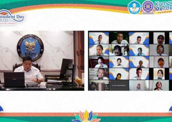 Nusabali.com - 6192-mahasiswa-baru-unud-ikuti-student-day-secara-daring