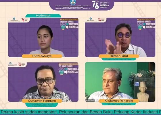Nusabali.com - buku-pintar-dunia-perfilman-diluncurkan-ungkap-peluang-karier-industri-film