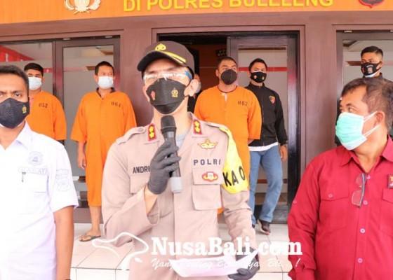 Nusabali.com - satroni-gudang-lima-pelaku-pencurian-ditangkap