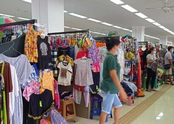 Nusabali.com - gelisah-pedagang-pasar-seni-harap-ppkm-dicukupkan