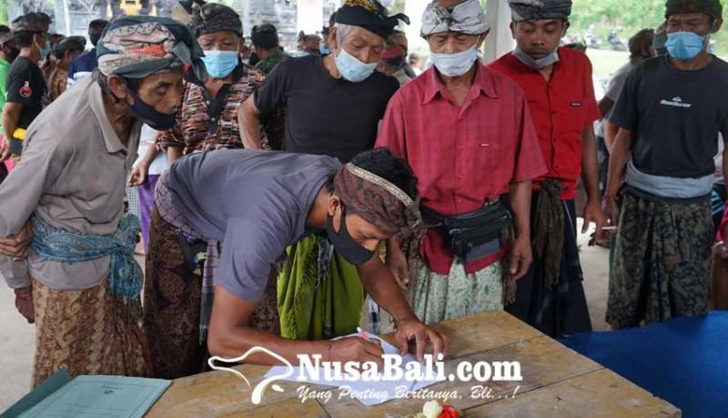 www.nusabali.com-krama-liligundi-deklarasi-boikot-kegiatan-desa-adat