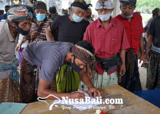 Nusabali.com - krama-liligundi-deklarasi-boikot-kegiatan-desa-adat