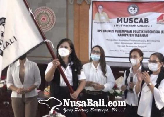 Nusabali.com - rahayuni-nahkodai-kppi-tabanan