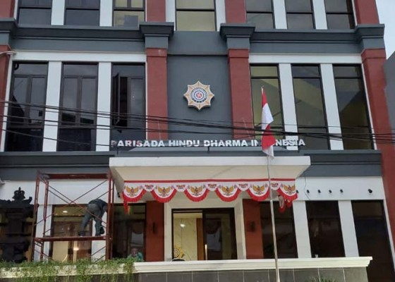 Nusabali.com - phdi-pusat-kini-miliki-gedung-representatif-di-jakarta