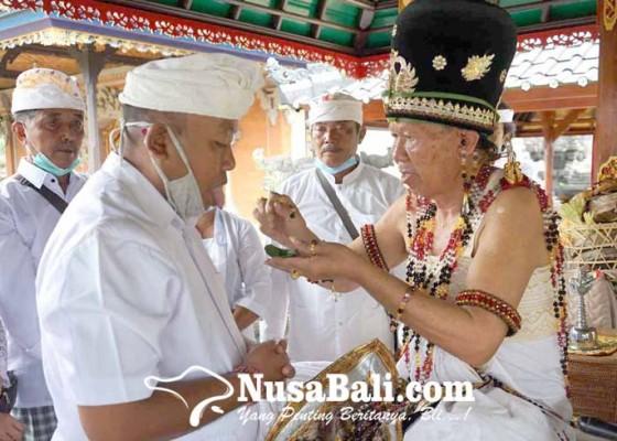 Nusabali.com - bendesa-adat-padangkerta-majaya-jaya-di-pura-puseh