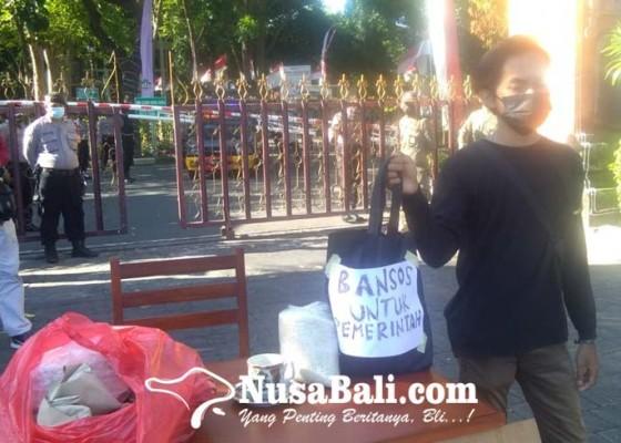 Nusabali.com - aliansi-bem-se-bali-kritisi-penanganan-pandemi-yang-dilakukan-pemerintah