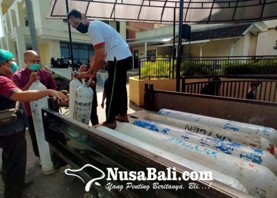 Nusabali.com - pasokan-oksigen-rsud-wangaya