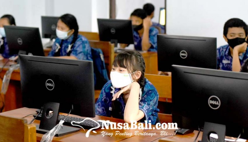www.nusabali.com-smpn-10-denpasar-gelar-simulasi-anbk