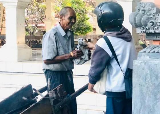 Nusabali.com - aksi-berbagi-pangan-sembari-sosialisasi-peduli-lingkungan