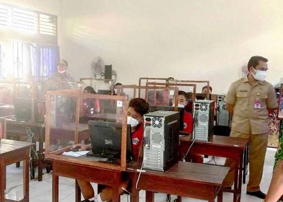 Nusabali.com - evaluasi-kemampuan-siswa-tabanan-gelar-simulasi-persiapan-anbk