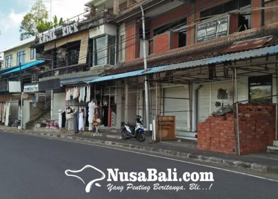 Nusabali.com - pedagang-di-destinasi-wisata-rice-terrace-tegalalang-memprihatinkan