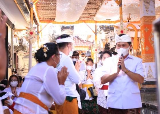 Nusabali.com - hadiri-karya-bupati-suwirta-ingatkan-krama-taati-prokes