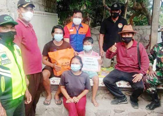 Nusabali.com - relawan-bantu-empat-anak-yatim-piatu