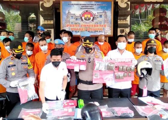Nusabali.com - ungkap-17-kasus-kriminal-dan-27-tersangka