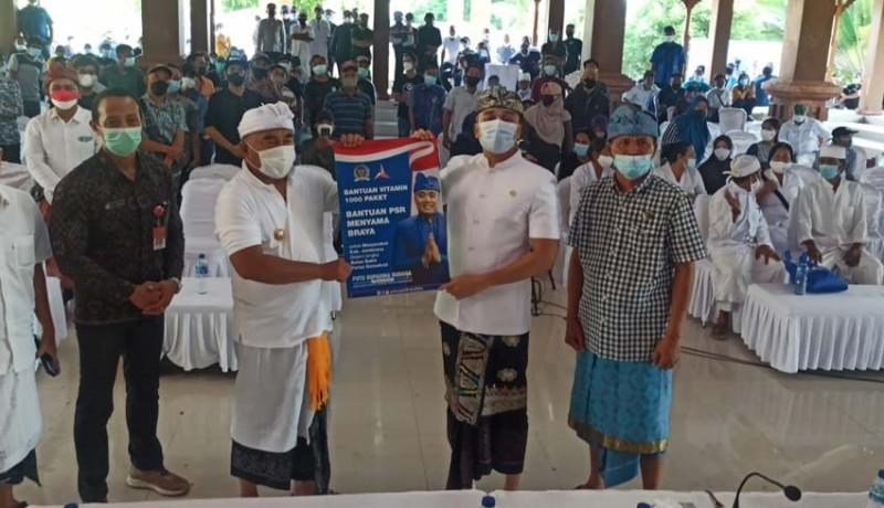 www.nusabali.com-supadma-gelontor-1000-dosis-vaksin-dan-2200-sembako