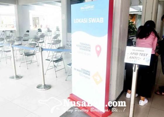 Nusabali.com - tarif-rapid-antigen-di-bandara-ngurah-rai-akan-disesuaikan