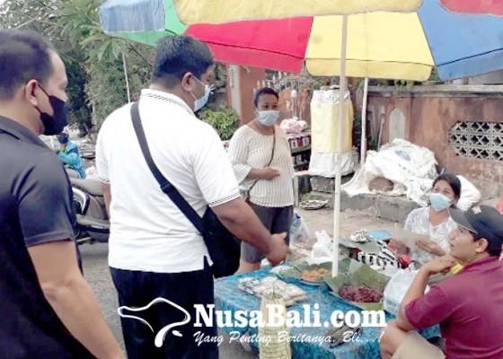 Nusabali.com - sidak-prokes-di-pasar-sejumlah-pedagang-dan-pengunjung-ditegur