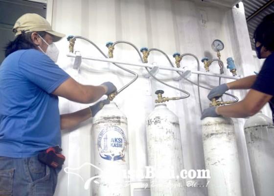 Nusabali.com - pengisian-oksigen-gratis-untuk-pasien-covid-19