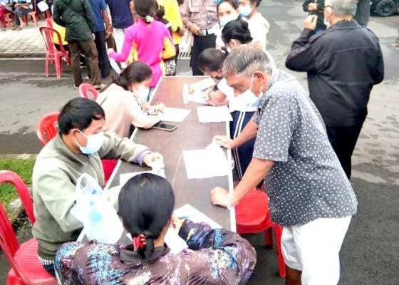 Nusabali.com - polres-bangli-perpanjang-layanan-vaksinasi-covid-19