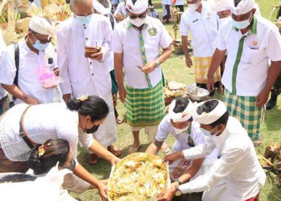 Nusabali.com - puri-ageng-mengwi-gelar-upacara-ritual-tawur-tulak-tunggul