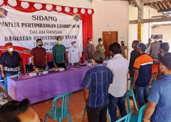 Nusabali.com - redistribusi-lahan-desa-sumberkelampok-tahap-ii-sidang-125-bidang-pekarangan