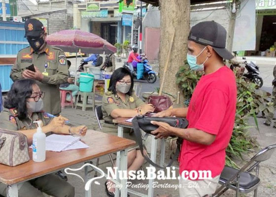 Nusabali.com - setahun-gelar-sidak-masker-pelanggar-masih-saja-ada