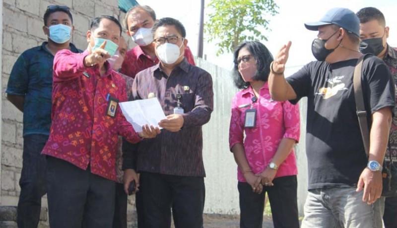 www.nusabali.com-wawali-arya-wibawa-tinjau-lokasi-pembangunan-tps3r-kelurahan-kesiman