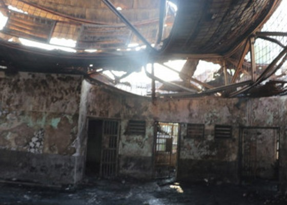 Nusabali.com - kebakaran-lapas-tangerang-41-narapidana-tewas