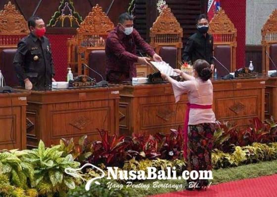 Nusabali.com - apbd-perubahan-pendapatan-turun-rp-38-m