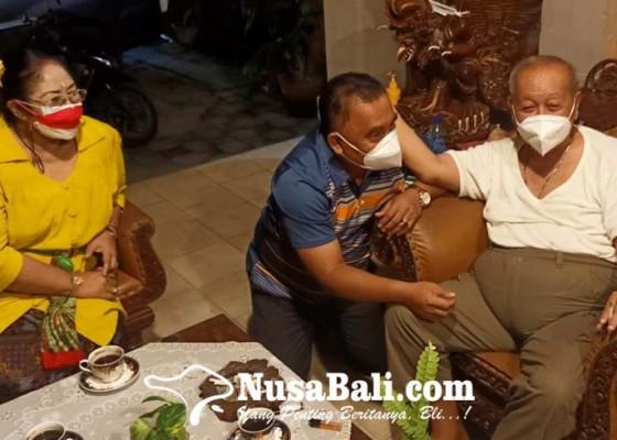 Nusabali.com - minta-saran-bupati-tamba-temui-cok-rat-di-puri-satria