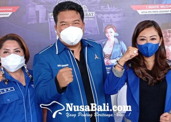 Nusabali.com - dpc-demokrat-buleleng-pasang-target-7-kursi-di-2024