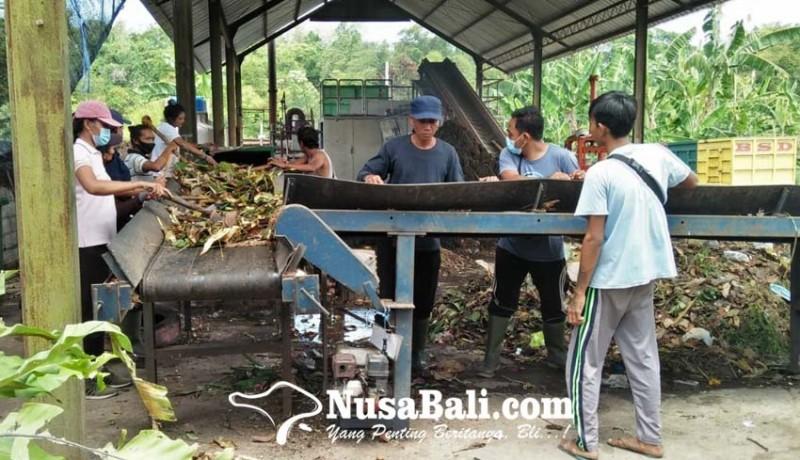 www.nusabali.com-banjar-di-wilayah-kesiman-kertalangu-setor-sampah-organik-untuk-dijadikan-kompos