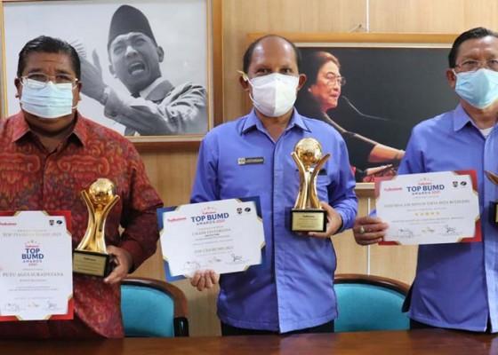 Nusabali.com - tirta-hita-buleleng-sabet-tiga-penghargaan-nasional-bumd