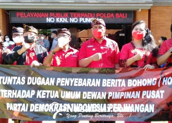 Nusabali.com - pengurus-pdip-se-bali-ramai-ramai-lapor-polisi