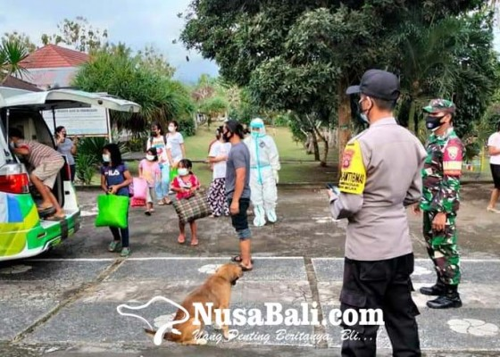 Nusabali.com - positif-corona-12-anak-panti-asuhan-masuk-isoter