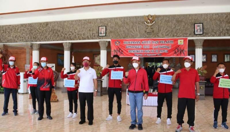 www.nusabali.com-20-atlet-pon-asal-buleleng-dilepas