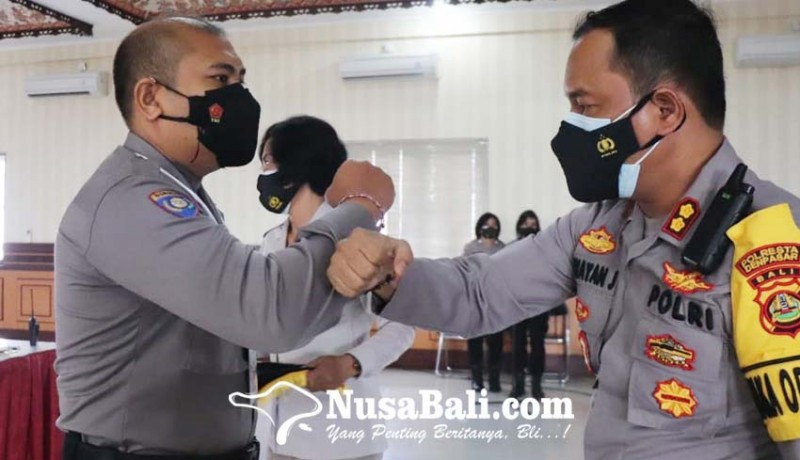 www.nusabali.com-polresta-denpasar-gelar-latihan-operasi-bina-waspada