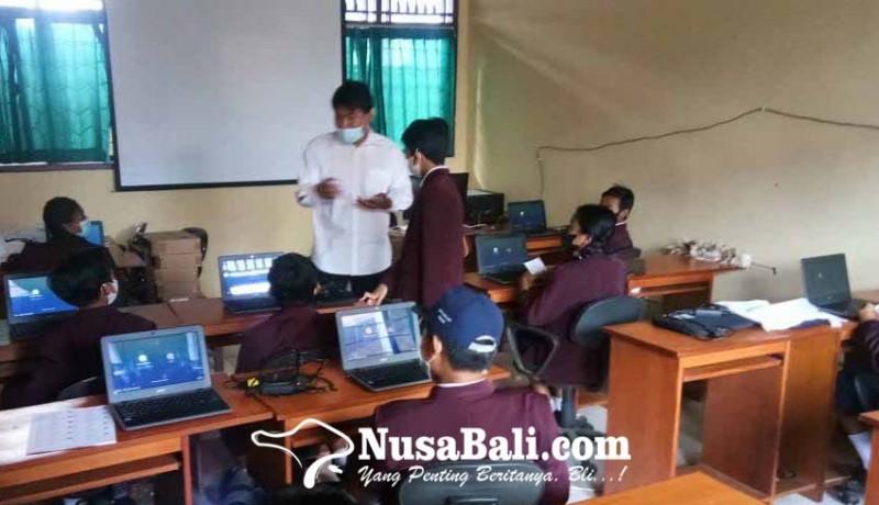 www.nusabali.com-sejumlah-smp-satap-numpang-simulasi-asesmen-nasional