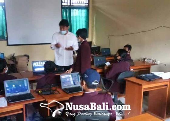 Nusabali.com - sejumlah-smp-satap-numpang-simulasi-asesmen-nasional