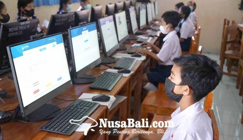 www.nusabali.com-gladi-asesmen-nasional-tingkat-smp-berjalan-lancar