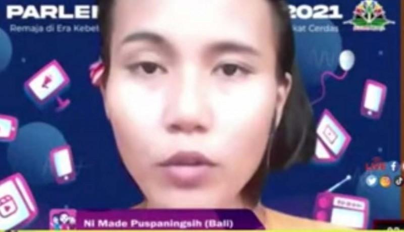 www.nusabali.com-wakil-bali-interupsi-di-raker-parlemen-remaja