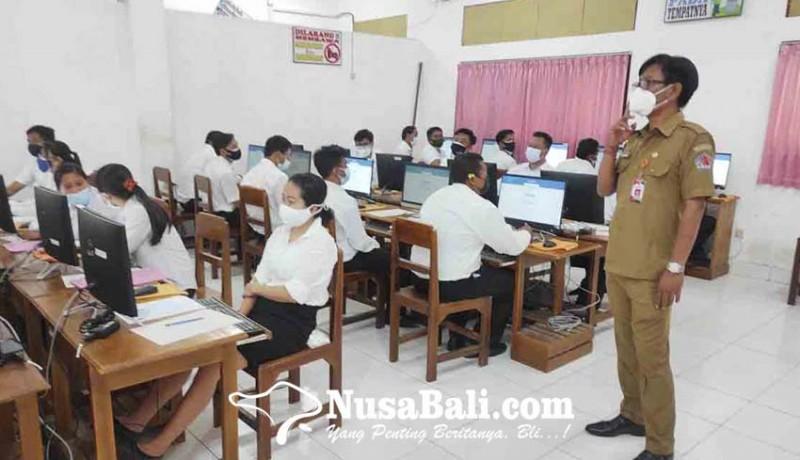 www.nusabali.com-puluhan-peserta-seleksi-tak-hadir