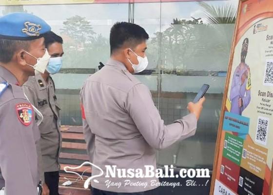 Nusabali.com - polres-dan-polsek-pasang-aplikasi-pedulilindungi